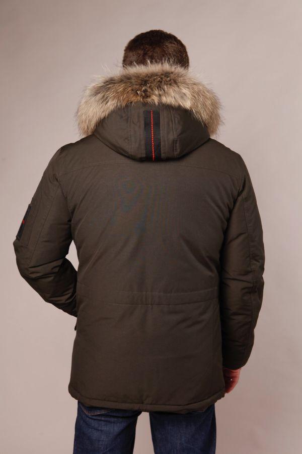 Winterparka für Herren in khaki
